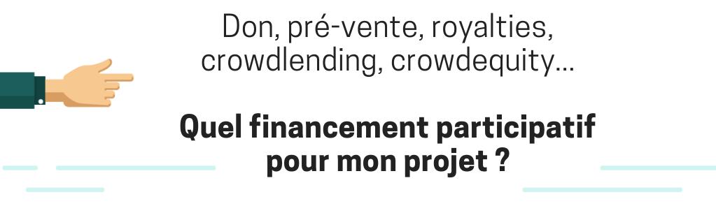 Webinars sur le crowdfunding - porteurs de projet